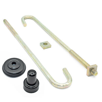 M6 M8, Hook J Bolts + Square Nuts + Spat Washers + Top Hats Zinc Roofing Gutter • 2.99£