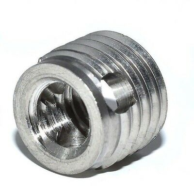 Self Tapping Threaded Inserts With Cutting Holes For Light Alloys And Plastic • 1.19£
