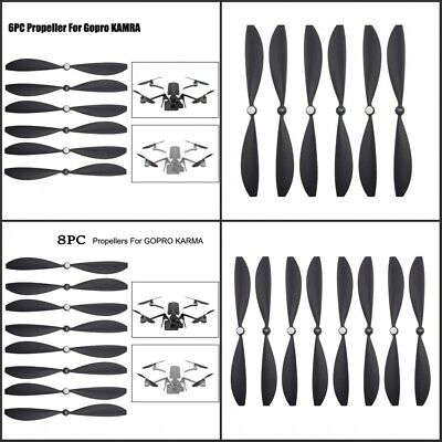 AU30.95 • Buy 6 Or 8PCS Drone Propellers Blades Wings Accessories Parts For GoPro Karma Black