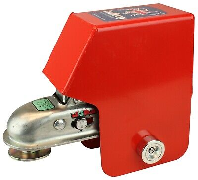 New Bulldog P6E Trailer Hitch Lock - Knott KQ14 On Ifor Williams P6E Pre 2004 • 99.99£