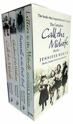 Jennifer Worth The Complete Call The Midwife Stories 4 Books Collection Set Pack • 17.90£