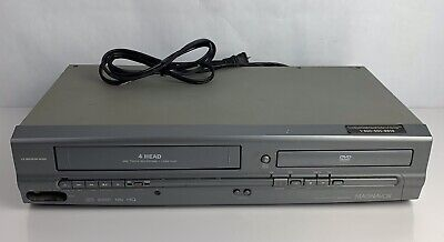 $ CDN31.40 • Buy Magnavox MWD2205 4 Head VCR Recorder / DVD Player Combo AS IS