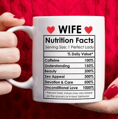 AU26.71 • Buy Valentines Day Gifts For Wife From Husband Happy Anniversary Gifts For Her Mug