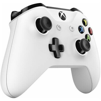 $52.98 • Buy New Official Microsoft Xbox One S X Windows Wireless Bluetooth Controller White