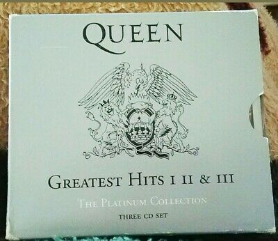 £13.70 • Buy Queen Greatest Hits: The Platinum Collection By Queen (CD, 3 Discs)