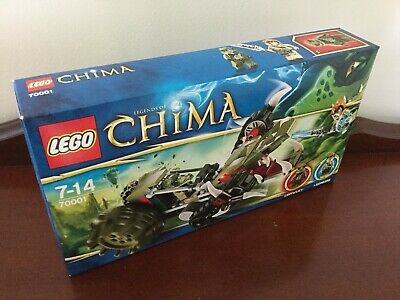 AU49.99 • Buy Lego Chima Set #70001 Crawley's Claw Ripper Brand NEW & Sealed With Free Postage