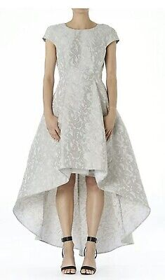 AU490 • Buy CARLA ZAMPATTI Silver Renaissance Dress - Size 6/8