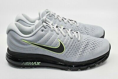 $125 • Buy Nike Air Max 2017 Wolf Grey 849559-112 Running Shoes Size 11