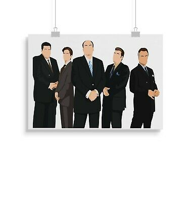 Sopranos, TV, Print, Poster, Wall Art, Gift, Gifts • 11.99£