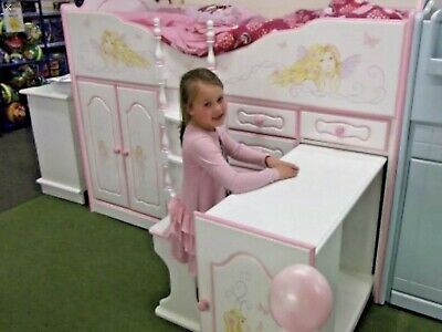 Chartley Girls High Sleeper Cabin Bed • 625£