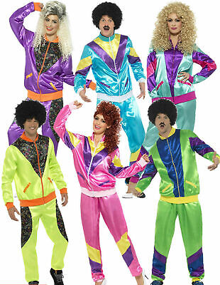 AU48.50 • Buy Neon 90s 80s Height Of Fashion Shell Suit Tracksuit Mens Ladies Costume