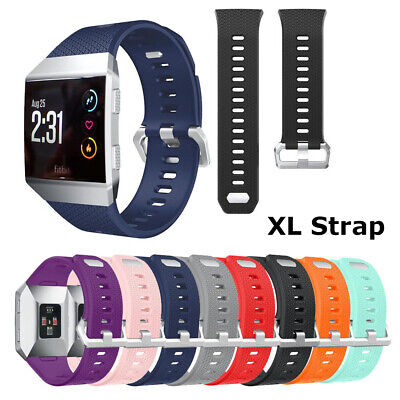 $ CDN8.34 • Buy Replacement Band Secure Strap For Fitbit Ionic Wristband Metal Buckle Tracker