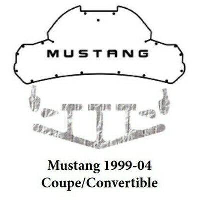$213.99 • Buy Trunk Lid Insulation Pad Cover For 1999-2004 Ford Mustang Coupe AcoustiHood Kit