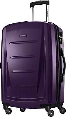 "View Details Samsonite - Winfield 2 31"" Expandable Spinner Suitcase - Purple • 119.99$"