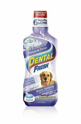 Pet Water Additive For Fresh Dog Breath Teeth Plaque Tarter Removal Dental Care • 7.74£