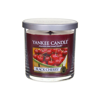 Yankee Candle  Black Cherry  Pillar Candle, Red - 198g • 8.95£