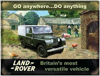 LAND ROVER Series Mark I Farm Vintage Style Advertising Retro Metal Wall Sign • 14.49£
