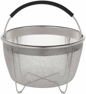 $11.61 • Buy Aozita Steamer Basket For Instant Pot Accessories 3 Qt Only- Stainless Steel