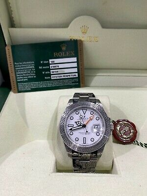 $ CDN14530.78 • Buy Rolex 216570 Explorer II 42mm CUSTOM HAND ENGRAVED Dragon Box Papers