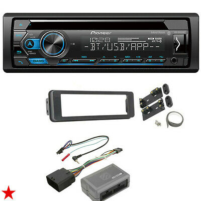 $197.77 • Buy For Harley Touring Pioneer Deh-s4220bt Bluetooth Radio Stereo Adapter Kit New!