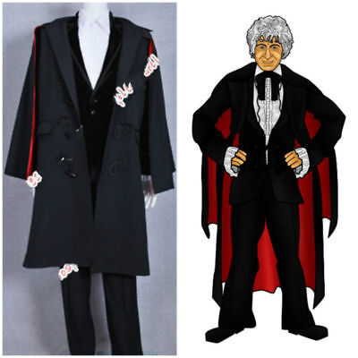 Doctor Who Cosplay Who Doctor For The 3rd Dr Jon Pertwee Cosplay Costume Outfit: • 49.90£