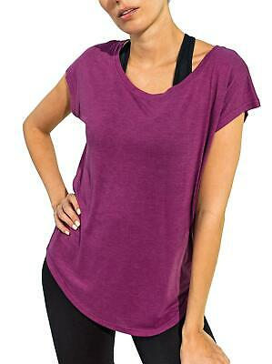 TriDri Womne's Yoga Cap-Sleeve Sports Top • 9.34£