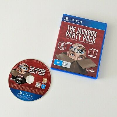 AU81.90 • Buy The Jackbox Party Pack PS4 PlayStation 4 Party Game Like New Condition FREE POST