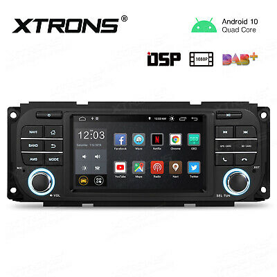 $225.99 • Buy 5  Android 10.0 Car GPS Radio Stereo DSP 4-Core 2+16GB For Jeep Dodge Chrysler