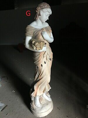 Large Solid Marble & Granite 80inch Hand Carved Garden Statue Greek Roman Figure • 999£