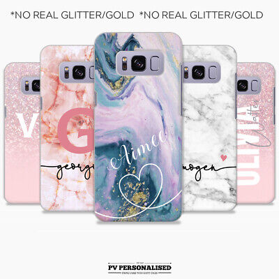 $ CDN9.78 • Buy PERSONALISED PHONE CASE MARBLE NAME HEART COVER FOR SAMSUNG S7 S8 S9 S10 S10e