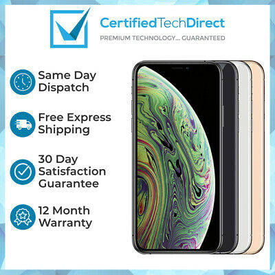 AU969 • Buy Apple IPhone XS Max A2101 64GB 256GB 512GB Refurbished AU Stock 6 Month Warranty