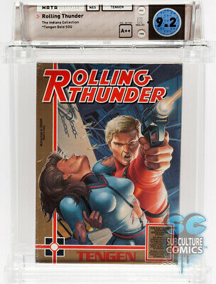£2831.95 • Buy Nes - Rolling Thunder - Factory Sealed - Indiana Collection - Wata 9.2 A++ - Nes