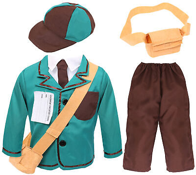 Boys 1940s Wartime Costume World War 2 Childs Kids 1930s Fancy Dress Ww2 Outfit • 12.99£