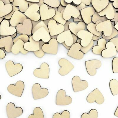 £3.75 • Buy Heart Table Confetti Wooden   Scatters Wedding Engagement Table Decoration X50