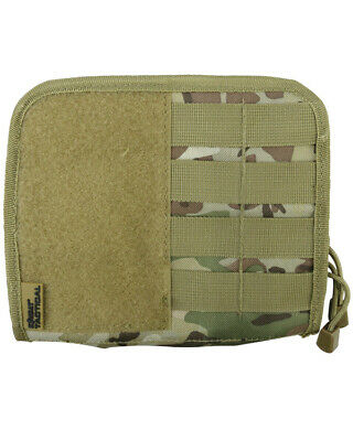 Kombat Uk Tactical Molle Fold Out Commanders Admin Panel, Webbing Pouch,btp Camo • 12.95£