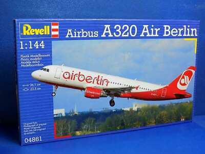 Revell 1/144 04861 Airbus A320 Air Berlin - Airliner Model Kit • 9.98£