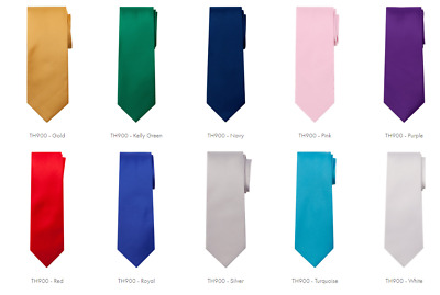$12.99 • Buy NEW Marquis Men's Solid Neck Tie & Hanky Set
