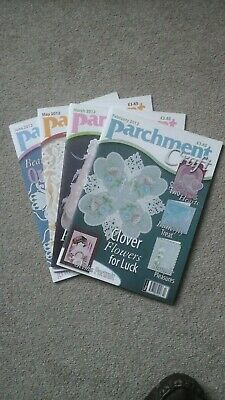 Parchment Craft Magazine Back Numbers Feb, Mar, May And Jun 2012 • 10£