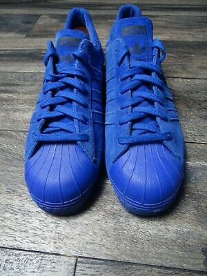 $ CDN86.17 • Buy Adidas Superstar 80s City Series Paris Shoes Mens New B32662 Blue SZ 12