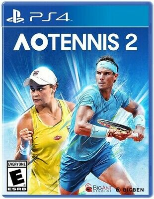 AU50.50 • Buy Ao Tennis 2 For PlayStation 4 [New Video Game] PS 4