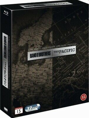 $29.95 • Buy Band Of Brothers / The Pacific 12-Disc Blu Ray Box