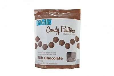 Candy Buttons Cake Pop Milk Chocolate Melts Cake Drip Free Post • 5.15£