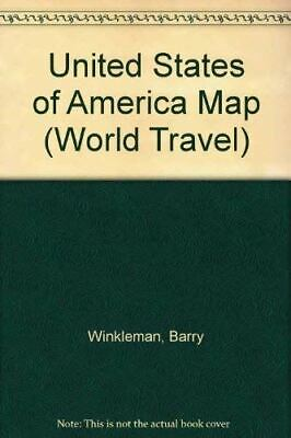 United States Of America Map (World Travel S.), Winkleman, Barry, Very Good, Pap • 5.98£