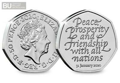 £11.99 • Buy 50p Coin 2020 Brexit UK Withdrawal From The EU Brilliant Uncirculated