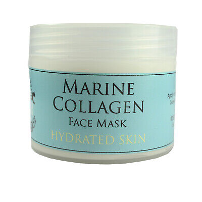 Marine Collagen Face Mask Cream Hydrating Firming Anti-Ageing 100ml By Cougar • 8.99£
