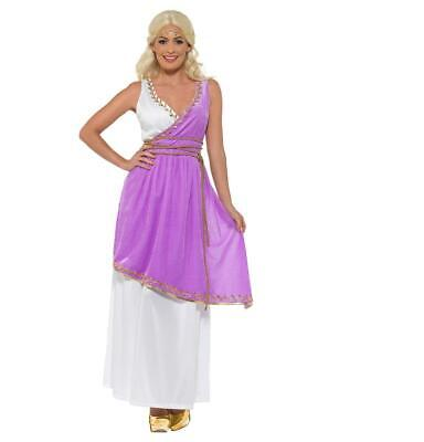 Adult Grecian Goddess Olympic Ancient  Greece Fancy Dress Costume • 10.29£