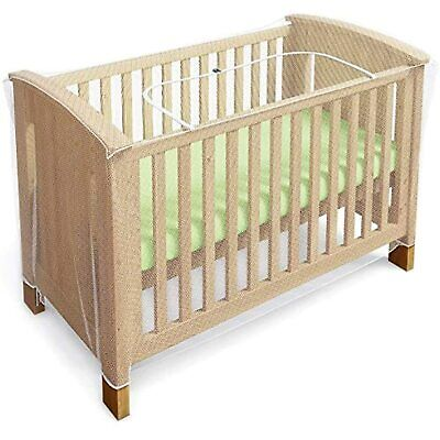 £14.99 • Buy Mosquito Net For Cot, Crib & Cot Bed - Baby Mosquito Insect Net - Cat Net With Z