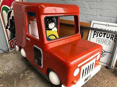 PostMan Pat Kids Ride On Machine - Coin Operated, Fully Working & Good Condition • 495£