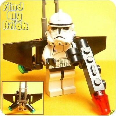 £14.53 • Buy SW6 Lego Clone Turbo Aerial Clone Trooper Minifigure With Jet Pack Gun 7261 NEW