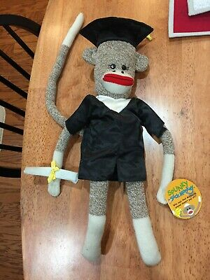 $ CDN10.59 • Buy Spunky Sock Monkey Graduate Graduation Excellent Condition With Tags